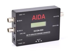 AIDA SDI Genlock converter w/ Active Loop Out