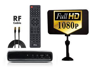 Closed Captioning Supported Craig CVD509N Digital to Analog Broadcast Converter with Remote Control Multi-Lingual On Screen Display HDMI and A//V Output  