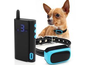 eXuby - Shock Collar for Small Dogs 5-15lbs Rechargeable | Waterproof Remote Dog Training Collar with 3 Settings - Beep, Vibration and Static Shock for Faster & Gentle Training