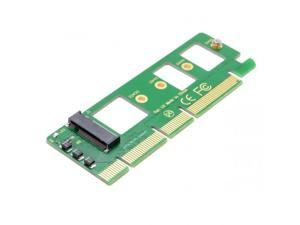 Xiwai NGFF M-key NVME AHCI SSD to PCI-E 3.0 16x x4 Adapter for XP941 SM951 PM951 A110 m6e 960 EVO SSD