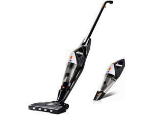 Hikeren Cordless Vacuum, 12000 Pa Powerful Stick Vacuum, 2 in 1 Lightweight Rechargeable Vacuum Cleaner with Lithium Ion Battery for Hardwood Floor Carpet Pet Hair