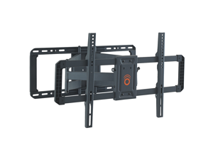 """ECHOGEAR Full Motion Articulating TV Wall Mount Bracket for 42""""-80"""" TVs - Easy To Install On 16"""" or 24"""" Studs & Features Smooth Articulation, Swivel, & Tilt - EGLF2"""