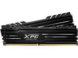XPG GAMMIX D10 8GB 288-Pin DDR4 SDRAM DDR4 3000 (PC4 24000) Desktop Memory Model AX4U300038G16A-SB10