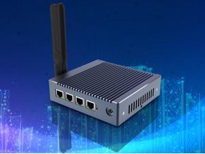 Firewall Micro Appliance VPN Router Mikrotik Pfsense Network Security  Industrial Mini PC With 4x Gigabit Intel LAN Ports Barebone System J1900