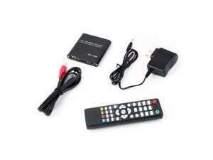 US Mini 1080P Full HD Digital Media Player-MKV/RM-SD/USB HDD-HDMI With Remote Control-Black