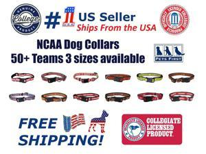 Pets First NCAA North Carolina State Wolfpack Dog Collar, Officially Licensed - Heavy Duty, Durable, Medium
