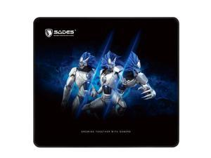 SADES Frost Gaming Mouse Pad Non-slip Natural Rubber Base Large Mouse Pad XL Size 17.71 x 15.75 x 0.12 Inches For Shooter FPS For Computer