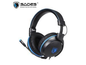 SADES FPOWER Gaming Headphones With Detachable Microphone Stereo Sound Headset 50mm Speakers Wired Headphones For Xbox/PS4/PC/Nintendo Switch/Laptop/Mobile