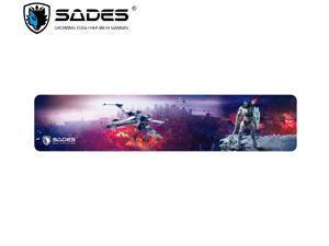 SADES Thunder Keyboard Wrist Rest Pad Support Hand Pad , SBR Memory Foam Anti-Slip Ergonomic Accessory Hand Wrist Pad Size 17.32 x 3.74 x 0.71 Inches For PC Gaming