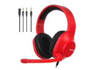 SADES Spirits Gaming Headset Multi-Platform LightWeigth Headphones For PC,Laptop,PS4,XBOX ONE,Mobile,VR,Nintendo Switch  (Red)