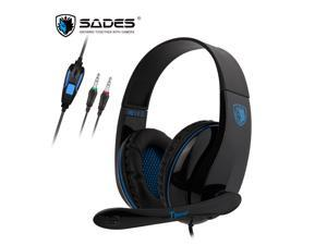 SADES TPower 3.5mm Gaming Headset Stereo Sound Super Lightweight For PC