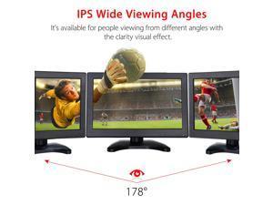 "Eyoyo 12"" IPS 1920*1080 HD Touch Screen Monitor Display Screen VGA For PC CCTV"