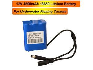 4500mAh Rechargeble Battery Pack for Fish Finder Underwater Fishing Video Camera