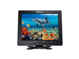 Eyoyo 8 Inch HDMI Monitor 1024x768 Resolution Display Portable 4:3 TFT LCD Mini HD Color Video Screen