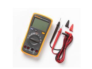 FLUKE 15B+ Digital Multimeter Meter DMM 4000 Counts Auto/Manual AC DC V/A