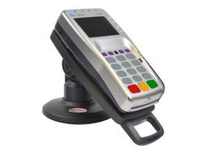"""Lower height 3"""" Stand for Verifone VX805 with Latch & Lock ® Securely and invisibly holds the device in place. Tilts 140° - No Swivel"""
