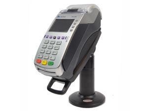 """Tall 7"""" Stand for Verifone VX520 40mm with Key and Lock ® Securely and invisibly holds the device in place. Tilts 140° and swivels 330°"""