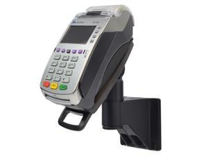 """Wall Mount Stand for Verifone VX520 40mm with Latch & Lock ® Secure the card reader in place on a 7"""" pole mount. Tilts 140° and swivels 330°"""