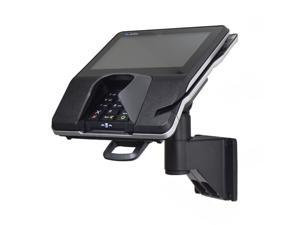 """Wall Mount Stand for Verifone MX915, MX925 with Latch & Lock ® Secure the card reader in place on a 7"""" pole mount. Tilts 140° and swivels 330°"""