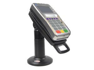 """Tall 7"""" Stand for Verifone VX805 with Latch & Lock ® Securely and invisibly holds the device in place. Tilts 140° and swivels 330°"""