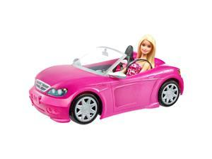 Barbie Doll & Convertible - Play Doll by Barbie (DJR55)