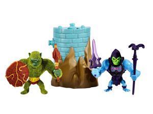 Masters of the Universe Minis Mossman & Battle Armor Skeletor Exclusive Mini Figure 2-Pack MOTU