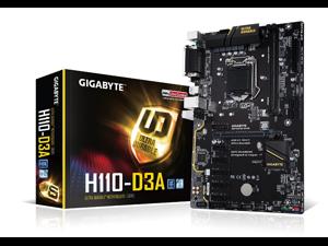Gigabyte GA-H110-D3A 6 GPU LGA 1151 Mining Motherboard crypto mining Ethereum
