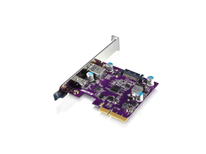 AKiTiO USB 3.1 Gen2 10Gbps PCIe Expansion card  The Trans-Speed of USB 3.1 Gen2 10Gbps PCIe Host Card is  double of USB3.0 ,With USB Type-C and USB Type-A  compatiable with USB3.0 interface