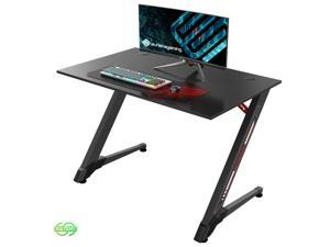 "Eureka Ergonomic Gaming Desk 43"" Home Office Computer PC Gamer Desks, Boy's Gift, Black"