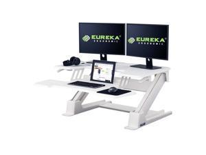 EUREKA ERGONOMIC Standing Desk Converter 36 White Gen2