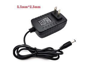 12V 2A Power adapter 5.5*2.5mm AC/DC Power Supply Charger Adapter US Plug
