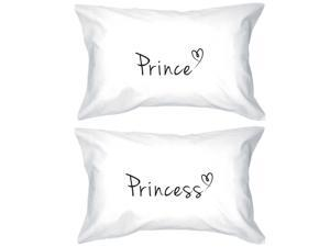 b2340f6855 Prince and Princess Pillowcases 300 – Thread - Count Matching Couple  Pillowcases