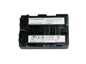 KINAMAX BTR FM500H J 01 2200mAh NP FM500H Replacement Battery for Sony DSLR A100 B  DSLR A100K B  DSLR A100W B