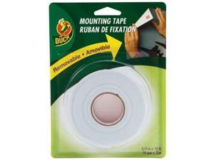 Duck Brand Removable Mounting Double-Sided Foam Tape: 3/4 in. x 10 ft. (White)