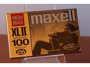 Maxell XLII 100 Minute Audio Cassette _3_Pack Plus 1 Bonus_
