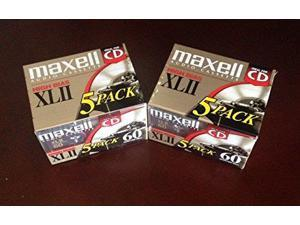 Maxell XLII 60 _ Cassette _ 1 x 60min _ High BIAS _pack of 10 _