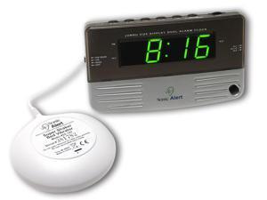 Sonic Alert Extra Loud Dual Alarm Clock with Super Shaker - SB200SS