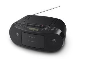 Sony CFDS50 Portable CD, Cassette   AM_FM Radio Boombox