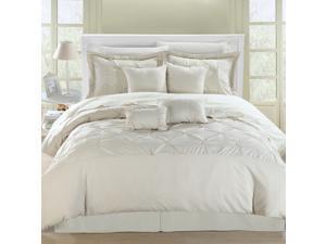 Vermont Beige/Beige King 12-piece Comforter Set