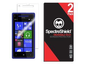 [2-Pack] Spectre Shield Screen Protector for HTC Windows Phone 8X Case Friendly HTC Windows Phone 8X Screen Protector Accessory TPU Clear Film
