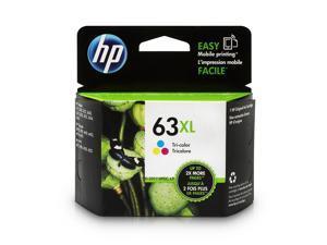HP 63XL High Yield Ink Cartridge - Cyan/Magenta/Yellow