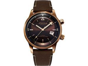 Alpina Seastrong Heritage AL-525BR4H4 Bronze PVD Leather Automatic Men's Watch