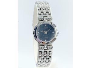Rado Jubile R48739713 Steel 23mm Round Black Dial Swiss Quartz Women's Watch