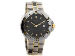 Rado DiaStar 259.0362.3.116 Gray Ceramic Gold 40mm Diver Quartz Men's Watch
