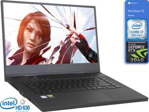 "ASUS ROG GU502GV Gaming Notebook, 15.6"" 144Hz FHD Display, Intel Core i7-9750H Upto 4.5GHz, 32GB RAM, 512GB NVMe SSD, NVIDIA GeForce RTX 2060, HDMI, DisplayPort via USB-C, Windows 10 Home"