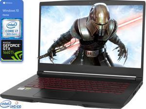 "MSI Thin GF65 Gaming Notebook, 15.6"" 120Hz FHD Display, Intel Core i7-9750H Upto 4.5GHz, 64GB RAM, 1TB NVMe SSD, NVIDIA GeForce GTX 1660 Ti, HDMI, Wi-Fi, Bluetooth, Windows 10 Home"