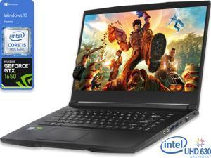 "MSI THIN GF63 Gaming Notebook, 15.6"" IPS FHD Display, Intel Core i5-9300H Upto 4.1GHz, 8GB RAM, 512GB NVMe SSD, NVIDIA GeForce GTX 1650, HDMI, Wi-Fi, Bluetooth, Windows 10 Home"
