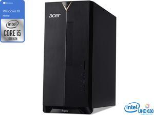 Acer Aspire TC-895 Desktop, Intel Core i5-10400 Upto 4.3Ghz, 8GB RAM, 256GB NVMe SSD, DVDRW, HDMI, Card Reader, Wi-Fi, Bluetooth, Windows 10 Home