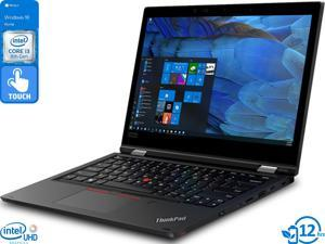"Lenovo ThinkPad L390 Yoga 2-in-1, 13.3"" IPS FHD Touch Display, Intel Core i3-8145U Upto 3.9GHz, 8GB RAM, 1TB SSD, HDMI, DisplayPort via USB-C, Card Reader, Wi-Fi, Bluetooth, Windows 10 Home"