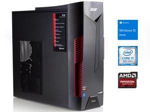39204fe80b7 Acer Nitro 50 Gaming Desktop, Intel 6-Core i7-8700 Upto 4.6GHz